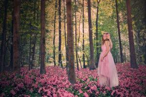 Fotoshooting im Wald