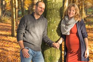 Paar-Fotoshooting im Herbst in Zurich