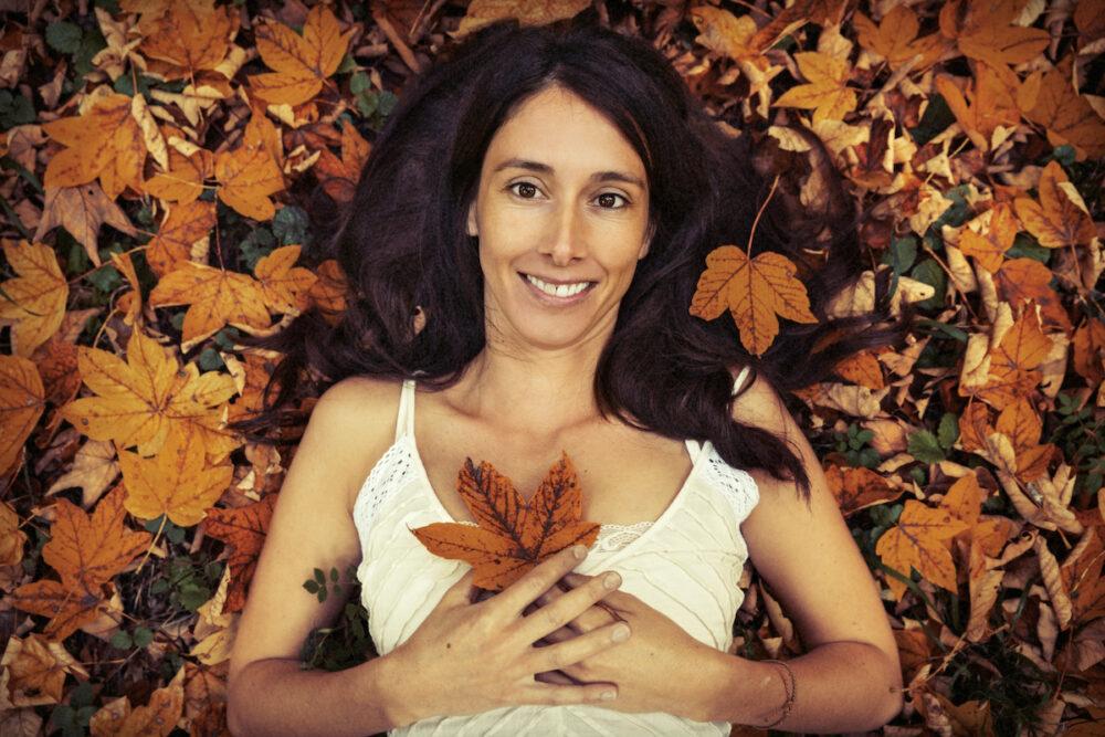 Herbst Fotoshooting im Wald