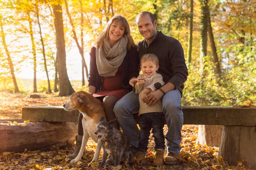 Family Fotoshooting in Zürich